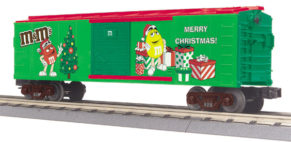 MTH 30-74594 M&M's Christmas Boxcar # 2010