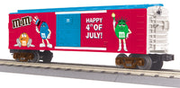 MTH 30-74598 M&M's Fourth of July Boxcar 2010