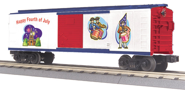 MTH 30-74601 Happy 4th of July Boxcar #2010