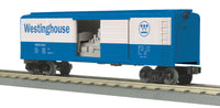 MTH 30-74802 Westinghouse Rounded Roof Box Car w/Generator - Car No. 2015