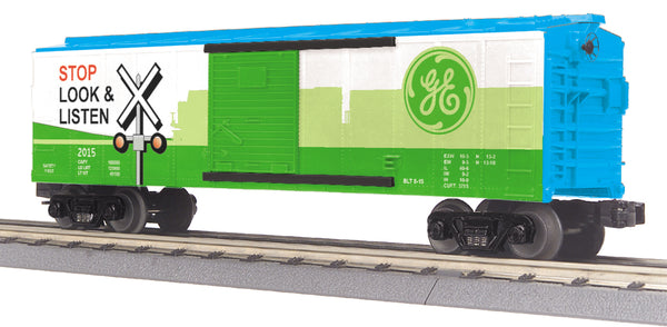 MTH 30-74819 General Electric Boxcar with Blinking LED's #2015