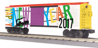 MTH 30-74844 Happy New Year 2017 Boxcar