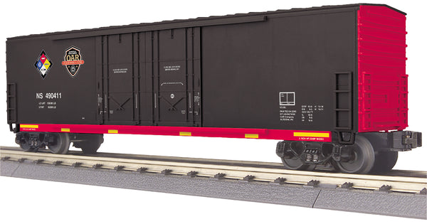 MTH 30-74874 Norfolk Southern NS First Responders Hazmat Safey Train 50' Double Door Plugged Boxcar
