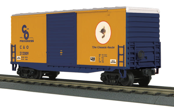 MTH 30-74877 Chesapeake & Ohio C&O 40' High Cube Box Car