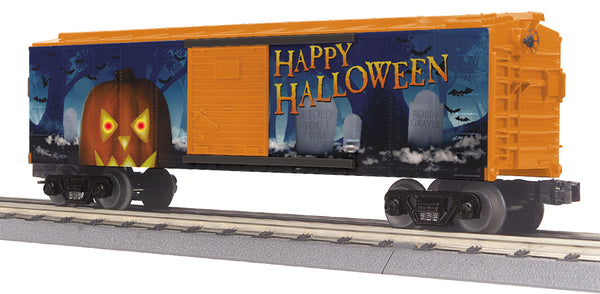 MTH 30-74887 Halloween Boxcar with Glowing LEDs