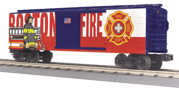 MTH 30-74909 Boston Fire Department Boxcar #2018