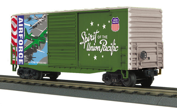 MTH 30-74923 Union Pacific UP Spirit of the Union Pacific Air Force 40' High Cube Boxcar