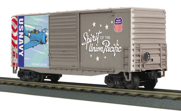 MTH 30-74925 Union Pacific UP Spirit of the Union Pacific U.S. Navy 40' High Cube Boxcar