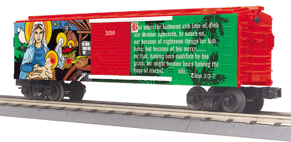 MTH 30-74963 Christmas (Traditional) Boxcar #2019
