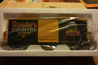 MTH 30-74978 Kennywood 40' High Cube Box Car Steelers Country 33
