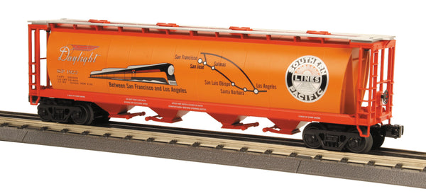 MTH 30-75273 Southern Pacific 4-Bay Cylindrical Hopper Car #1922