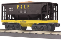 MTH 30-75518 Pittsburgh & Lake Erie P&LE Ore Car w/ Ore Load Car No. 52015