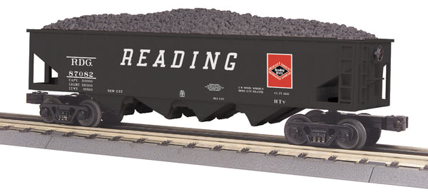 MTH 30-75569 Reading  4-Bay Hopper Car # 87082