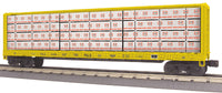 MTH 30-76593 Pittsburgh & Lake Erie P&LE Center I-Beam Flat Car # 10255