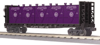 MTH 30-76608 Atlantic Coast Line Flat Car - w/Bulkheads & LCL Containers # 70355