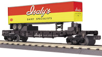 MTH 30-76747 Isaly's Flat Car with 40' Trailer #957