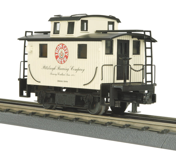 MTH 30-77062 Pittsburgh Brewing Company Bobber Caboose Iron City Beer
