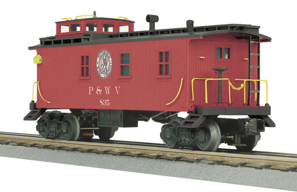 MTH 30-77092 Pittsburgh & West Virginia (P&WV) Woodsided Caboose