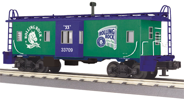 MTH 30-77174 Rolling Rock Bay Window Caboose