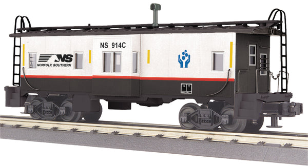 MTH 30-77287 Norfolk Southern NS Bay Window Caboose