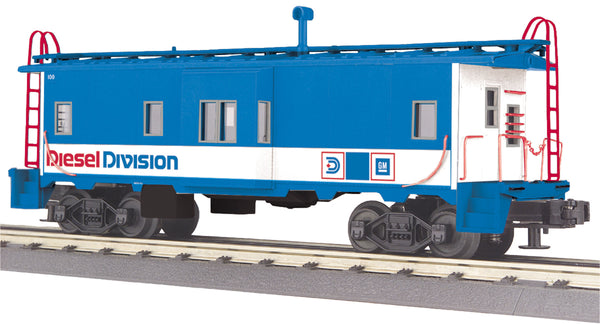 MTH 30-77310 GM Diesel Division Bay Window Caboose #100