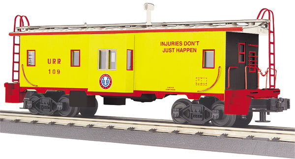 MTH 30-77318 Union Railroad Bay Window Caboose #109