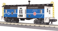 MTH 30-77363 CSX Spirit of Law Enforcement Bay Window Caboose #1052