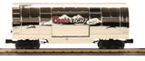 MTH 30-1433-1 Coors Light Silver Bullet Train Set w/Proto-Sound 2.0 and 30-78040 Coors Light Silver Bullet Operating Reefer Car and 30-78061  Coors Light Silver Bullet Operating Reefer Tail Car -