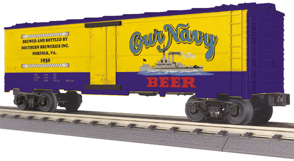 MTH 30-78124 Our Navy Beer Modern Reefer Car # 1930