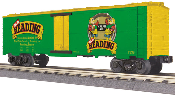 MTH 30-78125 Old Reading Cream Ale Modern Reefer Car
