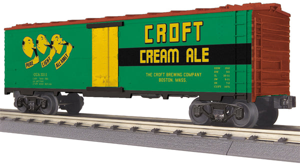 MTH 30-78131 Croft Ale Modern Reefer Car # 3311