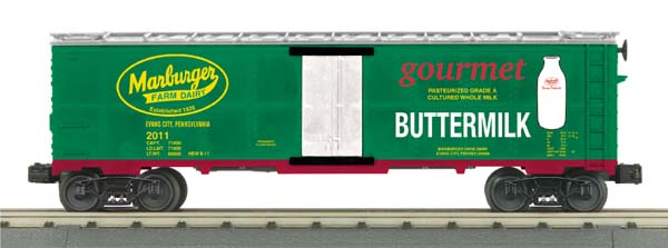 MTH 30-78138 Marburger Dairy Buttermilk Modern Reefer Car