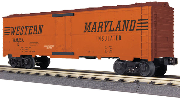 MTH 30-78177 Western Maryland WM Modern Reefer Car No. 15