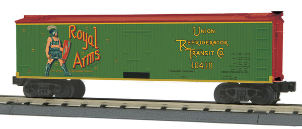 MTH 30-78194 Royal Arms 40' Woodsided Reefer Car # 10410