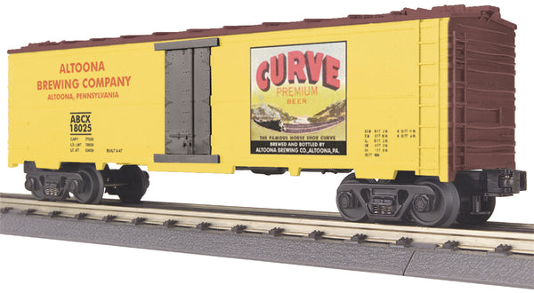 MTH 30-7843 Curve Beer Modern Reefer Car Altoona Brewing Company