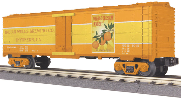 MTH 30-7888 Orange Blossom Amber Modern Reefer Car