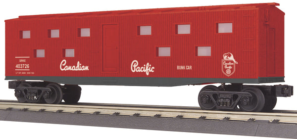MTH 30-79159 Canadian Pacific CP Bunk Car - No. 403726