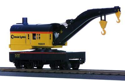 MTH 30-7916 Chessie Operating Crane 900029