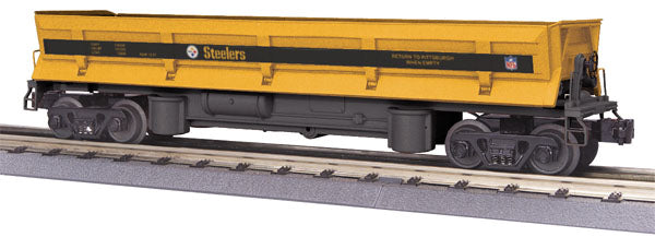 MTH 30-79180 Pittsburgh Steelers Dump Car w/Operating Bay - NFL