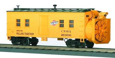 MTH 30-7921 Chicago Northwestern Rotary Snow Plow