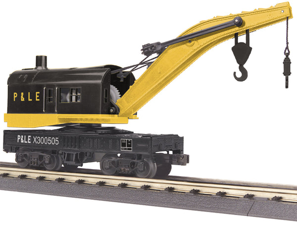 MTH 30-79244 Pittsburgh & Lake Erie (P&LE) Crane Car # X300505