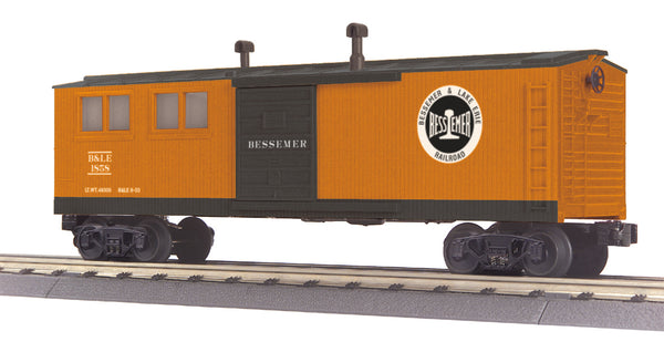 MTH 30-79298 Bessemer & Lake Erie B&LE Engineering Car -  No. 1858
