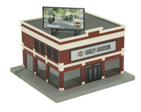 MTH 30-90111 Harley Davidson Motorcycle Dealership