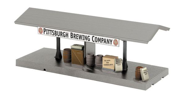 MTH 30-90189 Operating Pittsburgh Brewing Company Freight Platform