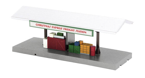 MTH 30-9160 North Pole Operating Freight Platform Christmas