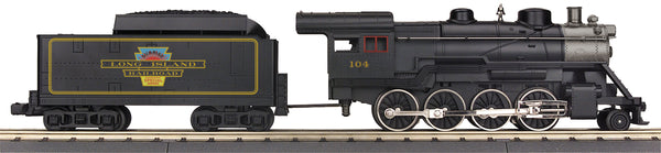 MTH 33-1040-1 Long Island 2-8-0 Ten Wheeler Steam Engine w/Proto-Sound 3.0 Cab No. 104