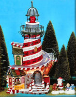 Department 56 13202 Rudolph's Red-Nosed Reindeer Lighthouse