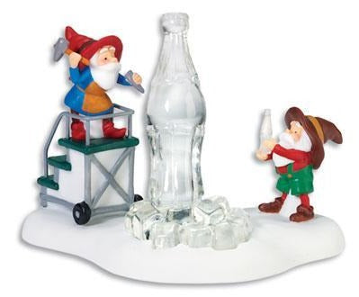 Department 56 56873 Ice Cold Coca-Cola (North Pole Series) Retired