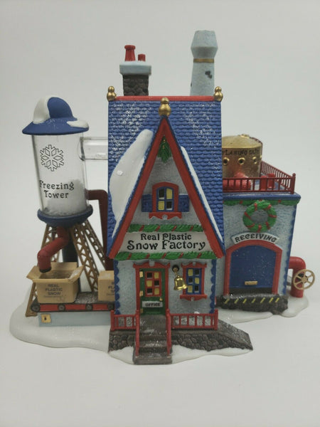 Department 56 #56403 North Pole Series Real Plastic Snow Factory