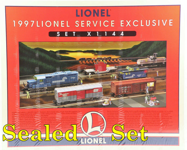 Lionel 6-11918 Conrail Diesel Engine and freight set Service Exclusive Set X1144